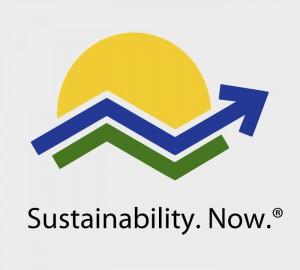 das Logo für die Zertifizierung der Nachhaltigkeit nach dem System 'Sustainability. Now.'