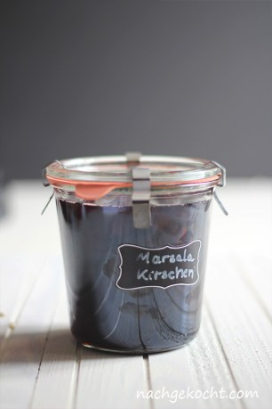Marsala-Kirschen