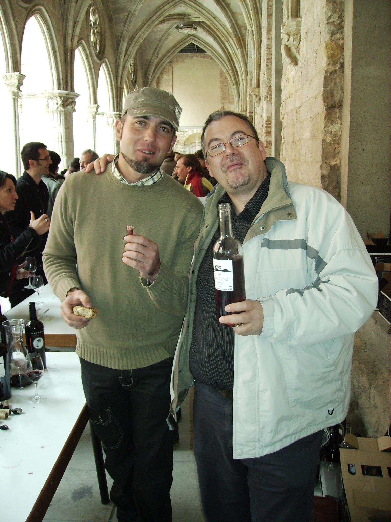 con Jose miguel, de Marenas