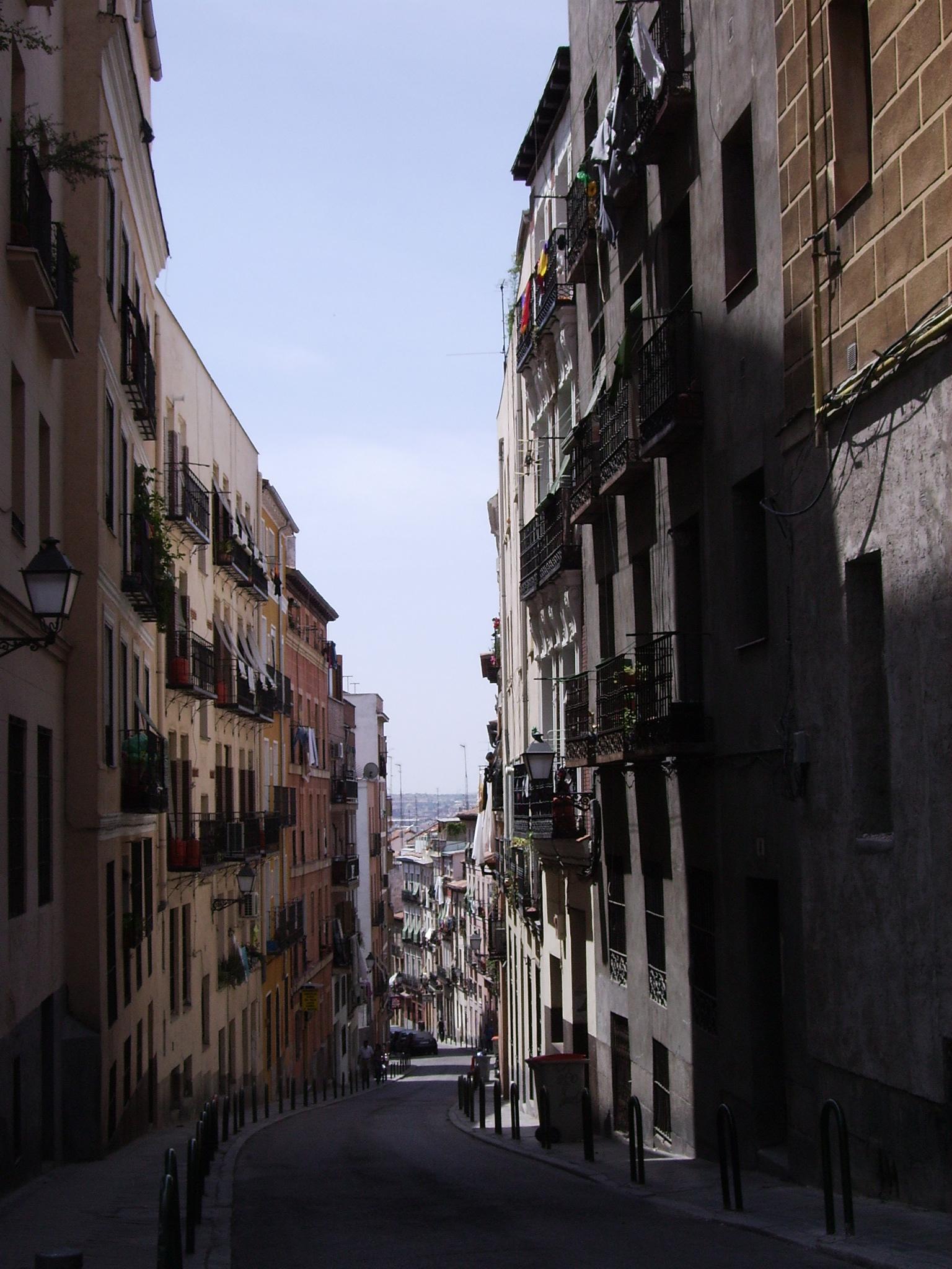 Vista de la Calle del Ave Maria