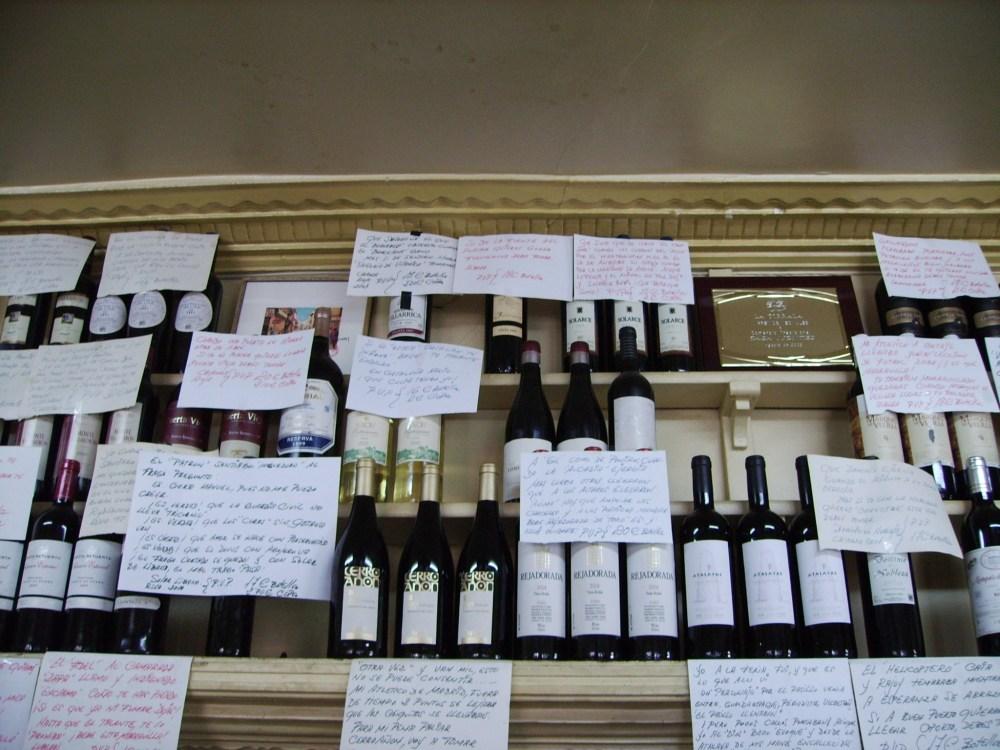 Tabernas de vinos por el centro de Madrid (6/6)