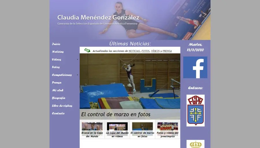 Web Claudia Menéndez