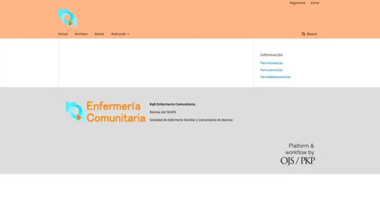 Software Administración Revista Enfermería