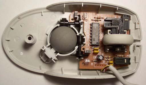 Wireless Mouse Circuit Computerrelatedcircuit Circuit Diagram