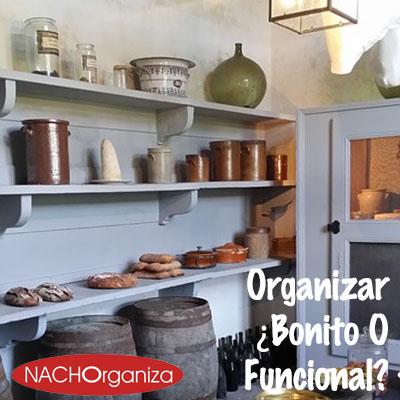 Organizar ¿Bonito O Funcional?