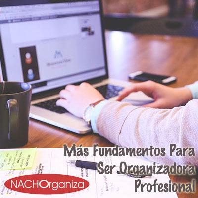 Más Fundamentos Para Ser Organizadora Profesional