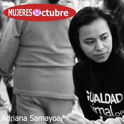 Mujeres De Octubre. Ady Samayoa