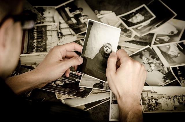 fotos recuerdos desorden