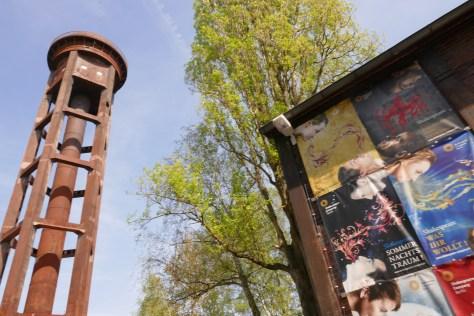 Freilichtbühne im Naturpark Südgelände. Foto: Ulrich Horb