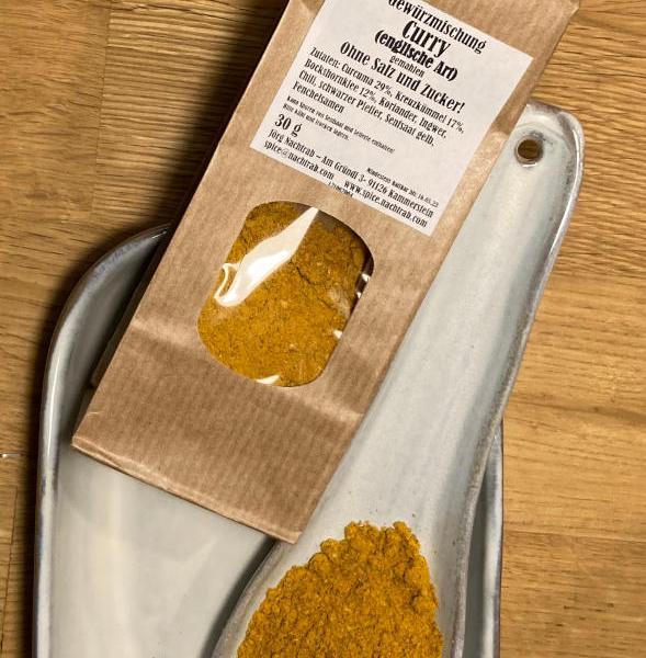 Gewürzmischung Curry