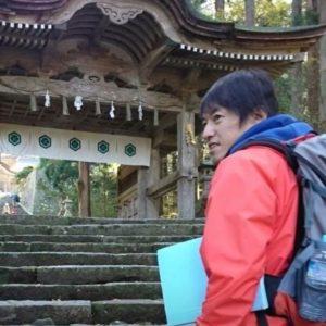 車浩一 さん 国立公園大山 大山寺 大神山神社 ガイド インストラクター