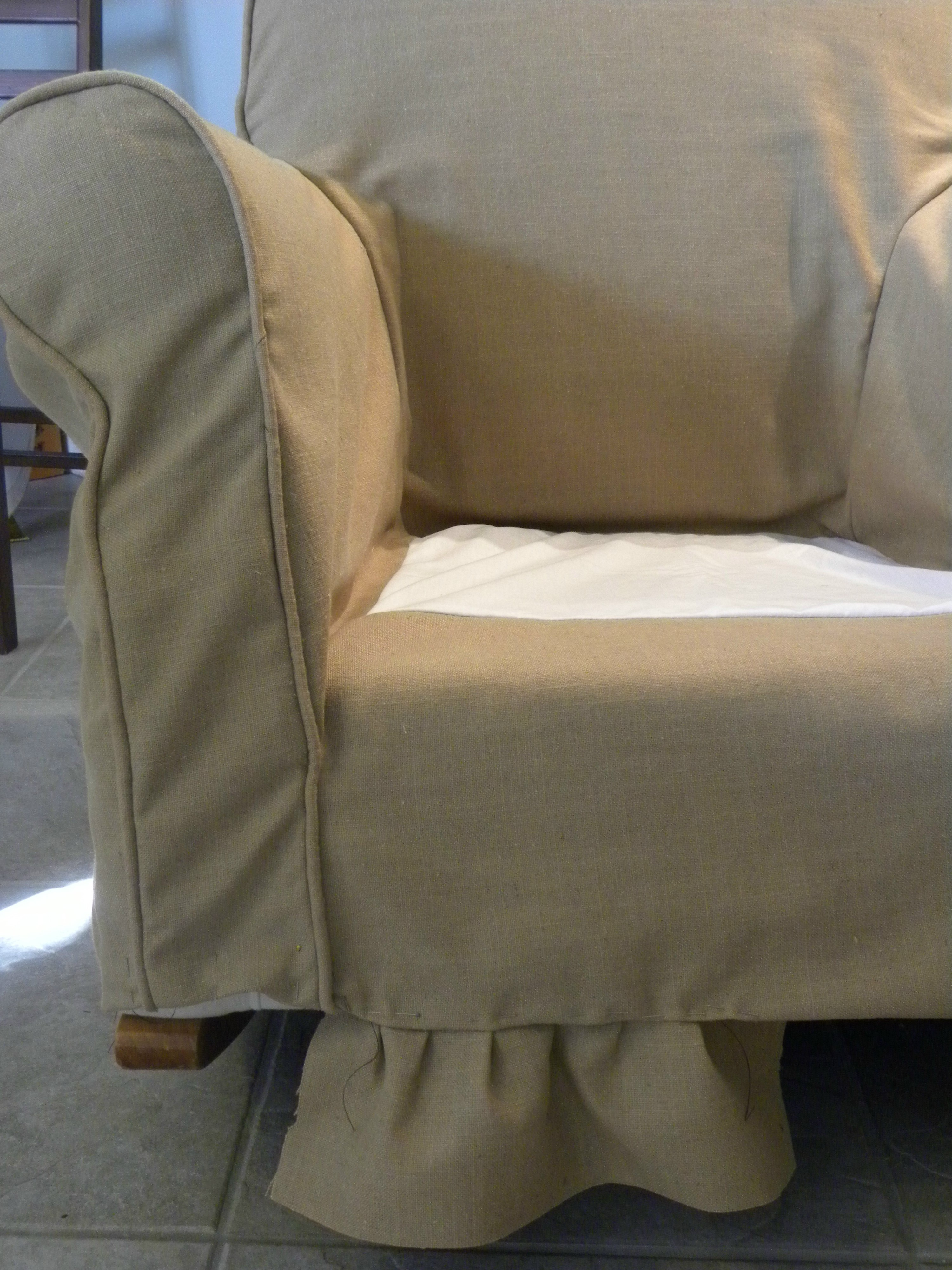 pottery barn leather sofa cleaning hay mags soft review nacient needle  home of arts guild slipcover
