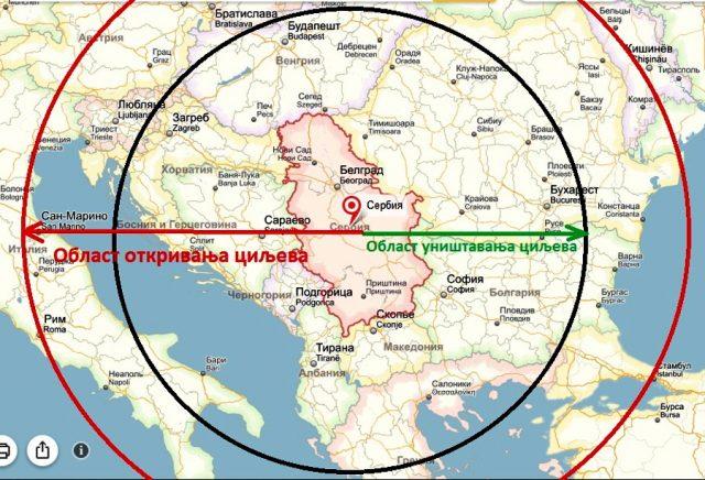 ШТА КАДА БИ С-400 БРАНИО НЕБО СРБИЈЕ? Овако би то заиста изгледало! (МАПА и ВИДЕО) 1
