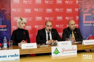 НЕДЕЛА ЖУТОГ РЕЖИМА: Српска десница одржала конференцију за штампу (ВИДЕО) 4