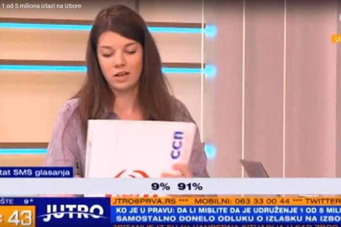 Фото: TV Prva printscreen