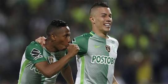 Matheus Uribe y Andrés Ibargüen fueron compañeros