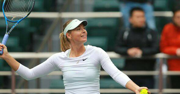 Maria Sharapova regresa