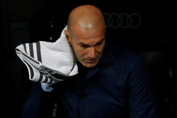 Zinedine Zidane lamentó perder