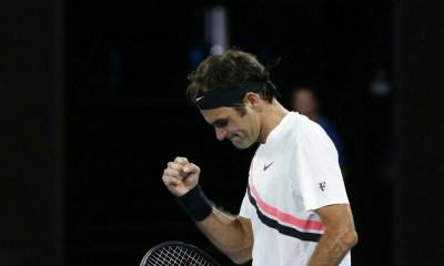 Federer inicia el Abierto de Australia con victoria, Roger Federer, Abierto de Australia, Roger Federer inicia con victoria, primera victoria de Federer en Abierto de Australia, Abierto de Australia 2018