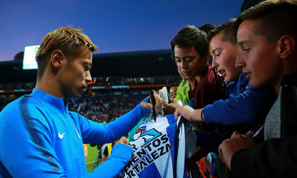 Medios aseguran que Keisuke Honda saldrá de Pachuca