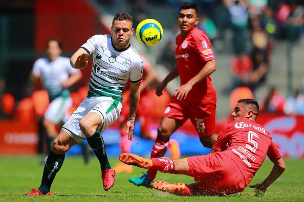 Santos contra Toluca, la Final de ida
