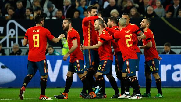 España dio su lista definitiva para el Mundial.