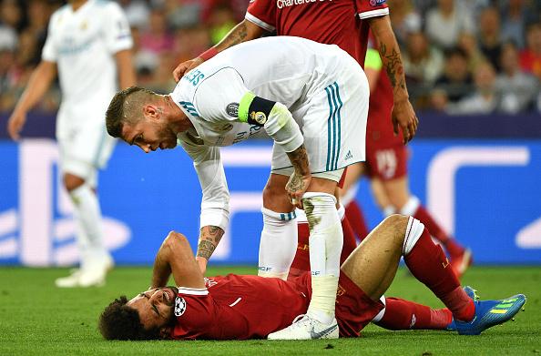 La lesión de Salah es seria.