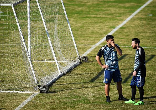 once de Argentina para el debut mundialista.