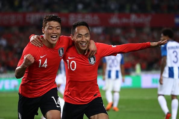 Corea del Sur venció a Honduras en partido amistoso.