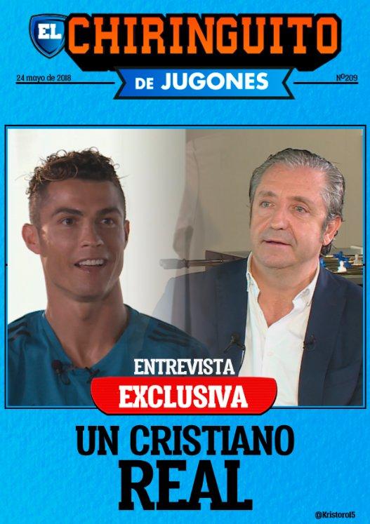 "Cristiano Ronaldo confesó: ""Mi novia me ha dicho Estás buenísimo"""