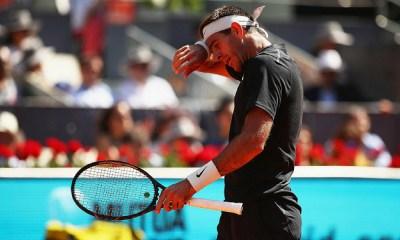 Del Potro es duda para el Roland Garros