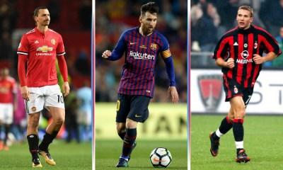 Los goleadores en la historia de la Champions