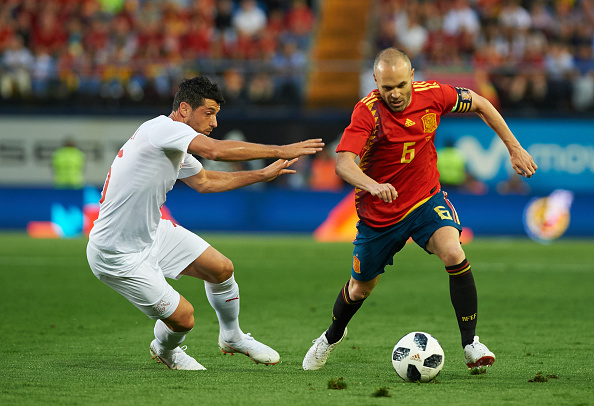 ¿Cuándo se retiraría Andrés Iniesta con España?
