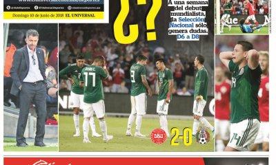 diarios deportivos del 10 de junio de 2018.