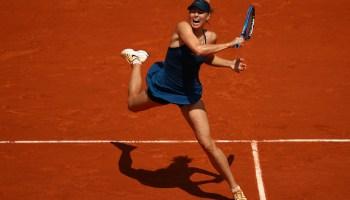 Sharapova accedió a octavos de final de Roland Garros.