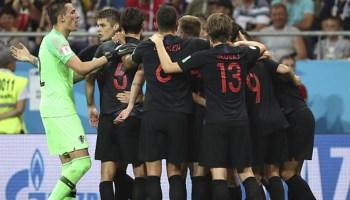 Croacia dejó fuera del Mundial a Islandia, Croacia venció a Islandia y los dejó fuera de Rusia 2018