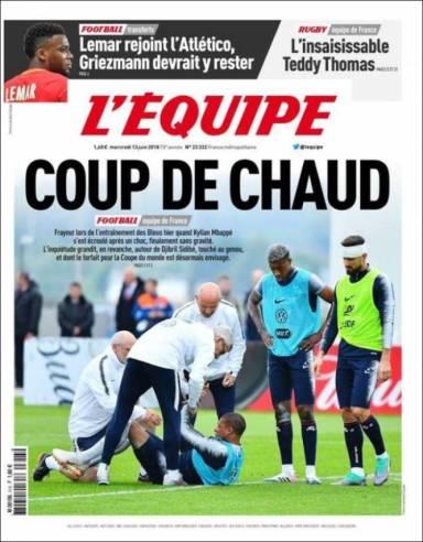 diarios deportivos del 13 de junio de 2018