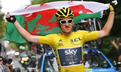 Geraint Thomas ganó el Tour de Francia