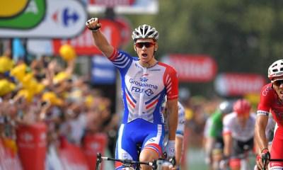 Arnaud Demaré ganó el penúltimo sprint