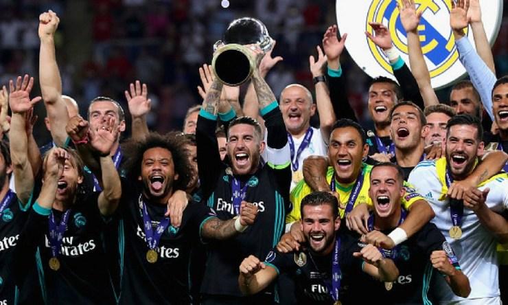 Madrid igualará marca en la Supercopa de Europa