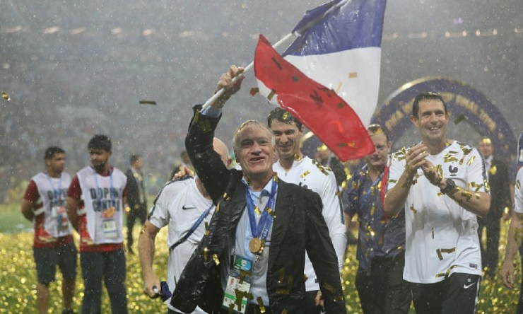 Francia es líder del ranking FIFA