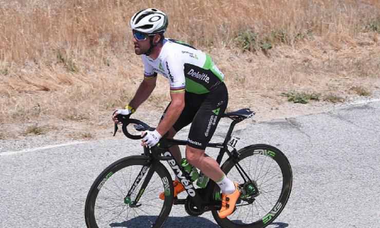 Mark Cavendish será baja temporal