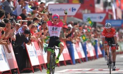 Simon Clarke ganó la quinta etapa