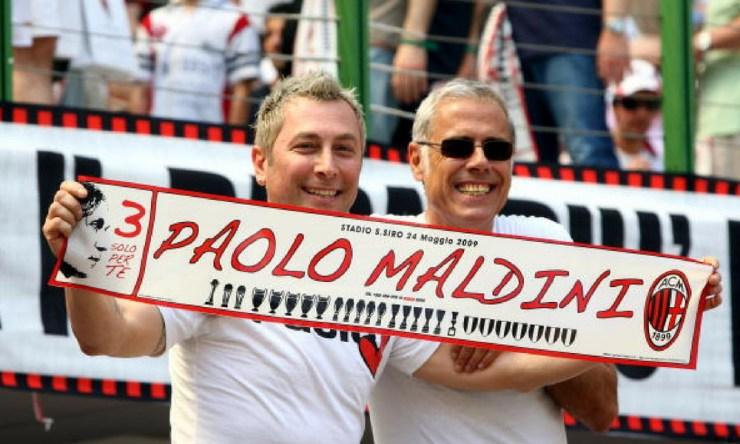 Paolo Maldini regresó a Milan