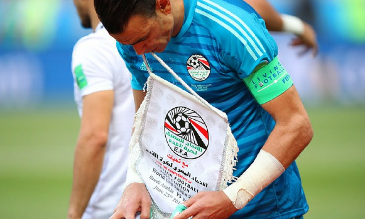 Essam El Hadary se retiró
