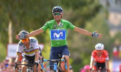 Alejandro Valverde ganó la octava etapa de la Vuelta
