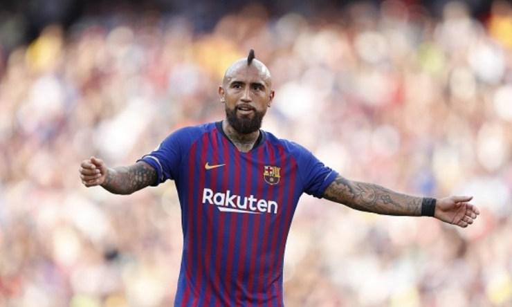 Arturo Vidal traicionado en Barcelona