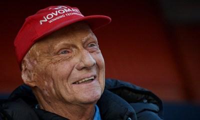 Niki Lauda abandonó el hospital