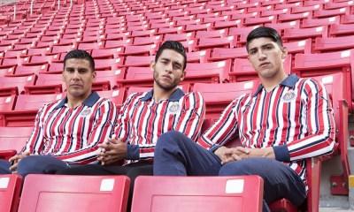 Chivas presentó nuevo uniforme