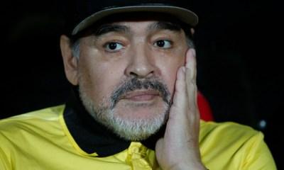 Maradona fue suspendido 1 partido
